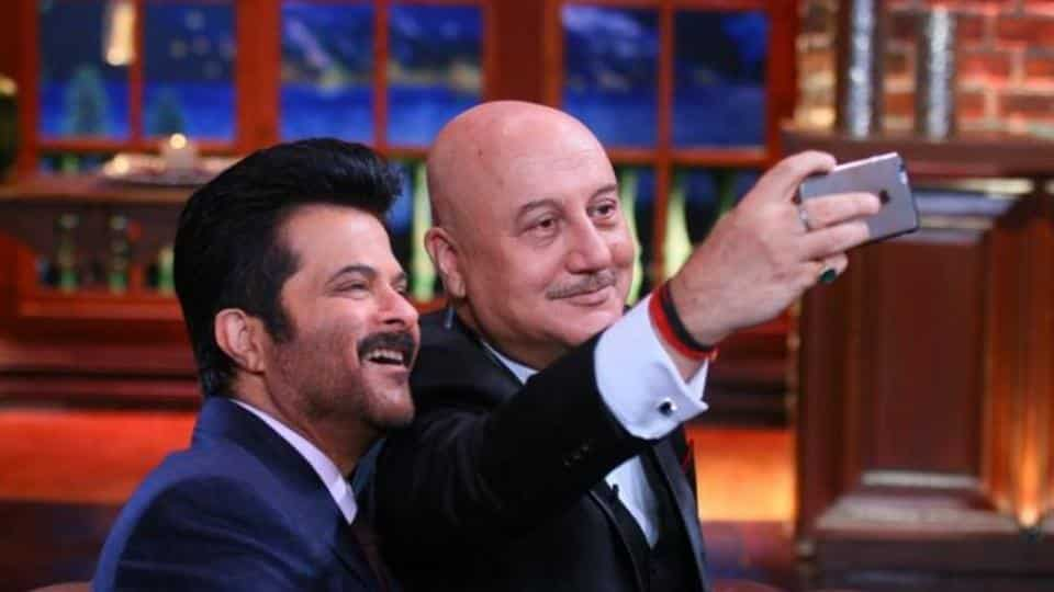 Anil Kapoor expressed happiness over Anupam Kher's success on Twitter.