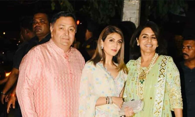 Riddhima Kapoor Sahni got special permission to travel down to Mumbai after Rishi Kapoor died.