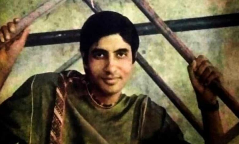 Amitabh Bachchan has shared a picture from 1969.