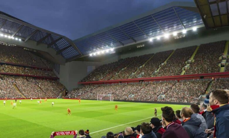 Liverpool have halted their planned redevelopment of a stand at Anfield for a year