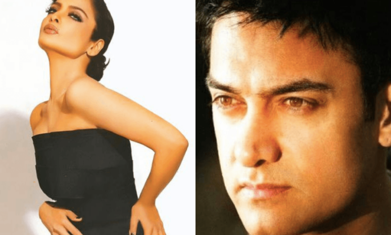 Aamir Khan never worked with Rekha after she acted in his father