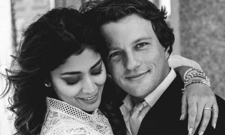 Shriya Saran and her husband Andrei Koscheev recently went live on Instagram for the first time.