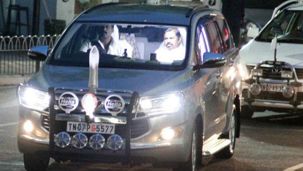 Chief Minister Edappadi Palanisami leaves for Salem today