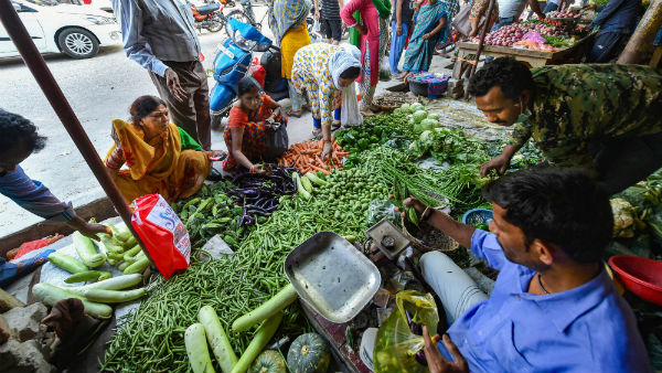 Ministry of Home Affairs released guidelines today about vegetable shops