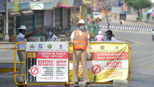 karnataka govt not relaxed curfew after people strongly opposes