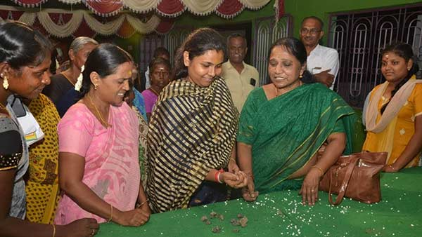 Village women plays Tradional Fun Games on Womens Day Celebration