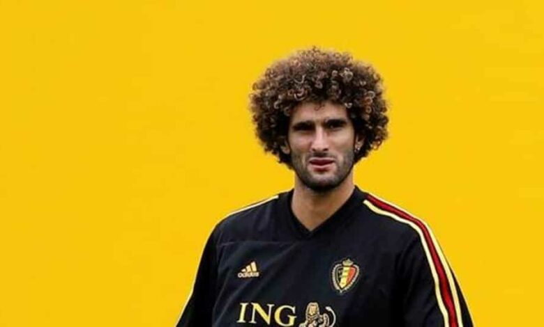 File image of Marouane Fellaini