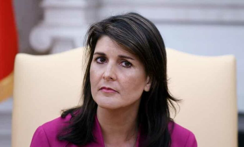 Haley has been a fierce critic of China.