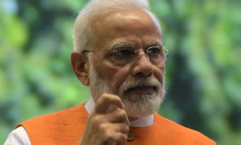 """Modi tweeted that he had exchanged views on the Covid-19 pandemic with Lee and """"thanked him for the support and care being extended to Indian citizens in Singapore""""."""