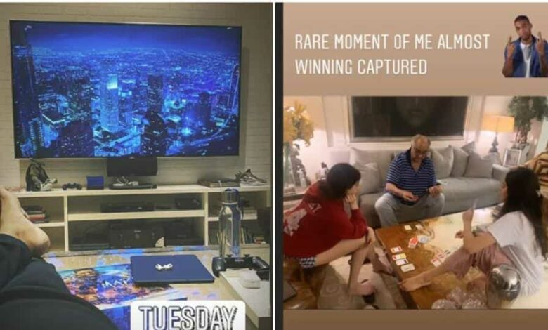 Janhvi Kapoor and Arjun Kapoor shared new pictures of time spent at home amid lockdown.
