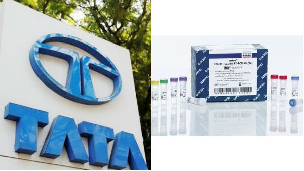 Tata gives 40,000 PCR kits to the Tamilnadu Government to detect coronavirus