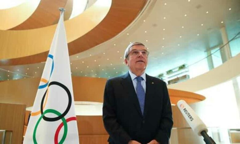 Thomas Bach, President of the International Olympic Committee (IOC).
