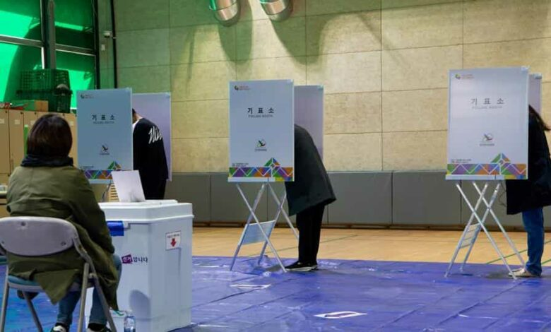 The election is set to decide control of parliament and shape President Moon Jae-in's ability to push through his agenda in the final two years of his administration