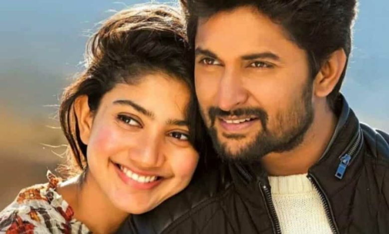 Nani and Sai Pallavi were seen together in Middle Class Abbayi before.
