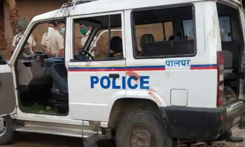 The incident occurred when three men from Kandivali in Mumbai were heading towards Gujarat's Surat in a car to attend a funeral on Thursday night.