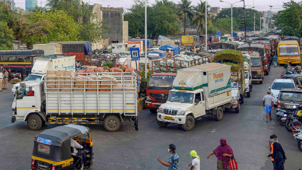 all trucks and goods vehicles will be allowed from april 20
