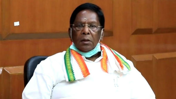 Puducherry state chief Minister V.Narayanasamy press conference regarding coronavirus updates
