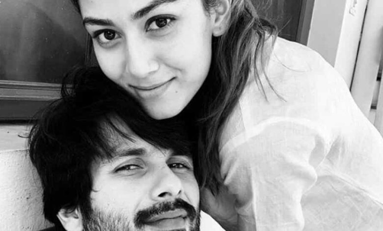 Shahid Kapoor and Mira Rajput have been staying home in Mumbai through the pandemic lockdown.