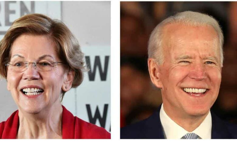 Warren is also on the former vice-president's shortlist for a running mate, as he said December. He has publicly committed himself to picking a woman for the ticket, and others on his list, according to speculation.