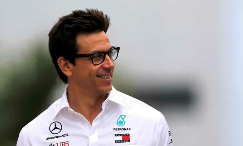 Meercedes boss Toto Wolff.