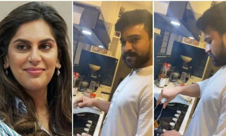 Ram Charan's wife Upasana often shares pictures of her family.