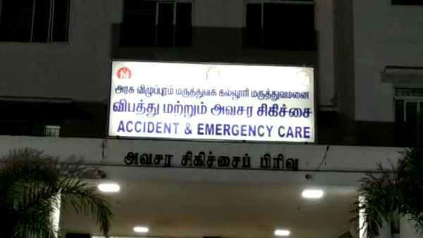 55 year old man dies in Villupuram GH