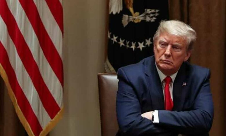 United States President Donald Trump said he believed Beijing would try to make him lose his re-election bid in November.