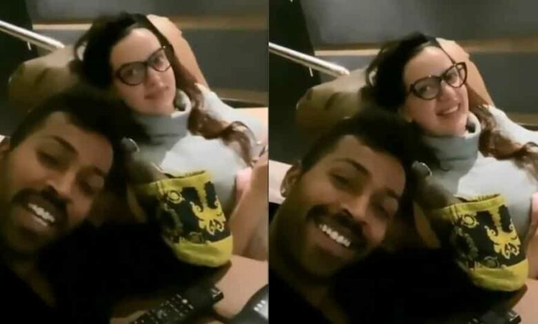 Hardik Pandya and Natasha Stankovic are spending quality time together during lockdown.