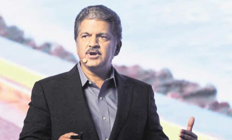 "Mahindra described the prime minister's address to the nation as his ""carpe diem"" speech ."