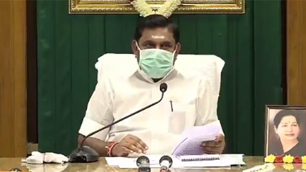 Edappadi Palanisamy says that People has to reduce corona spread by following government rules