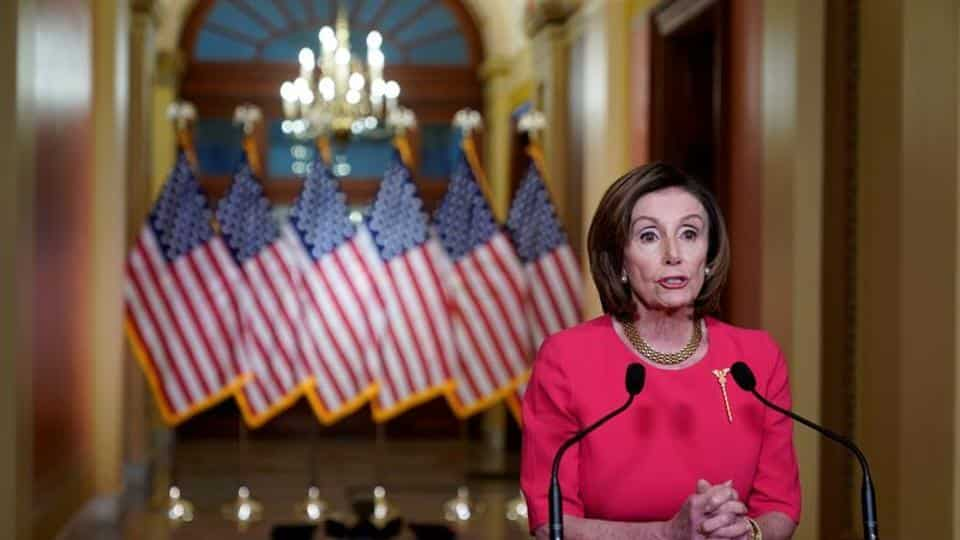 US House Speaker Nancy Pelosi can trigger the remote voting procedure for the first time in Congress' history if she deems it necessary.