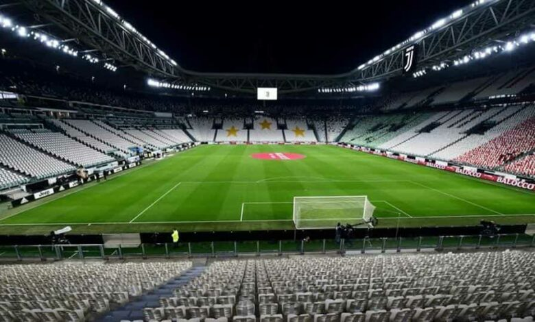 Soccer Football - Serie A - Juventus v Inter Milan - Allianz Stadium, Turin, Italy - March 8, 2020 General view of empty seats inside the stadium before the match is played behind closed doors REUTERS/Massimo Pinca