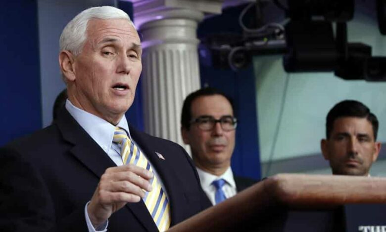 Another official said that United States Vice President Mike Pence  schedule will probably be on the lighter side for the next few days but he is not doing a full self-isolation.