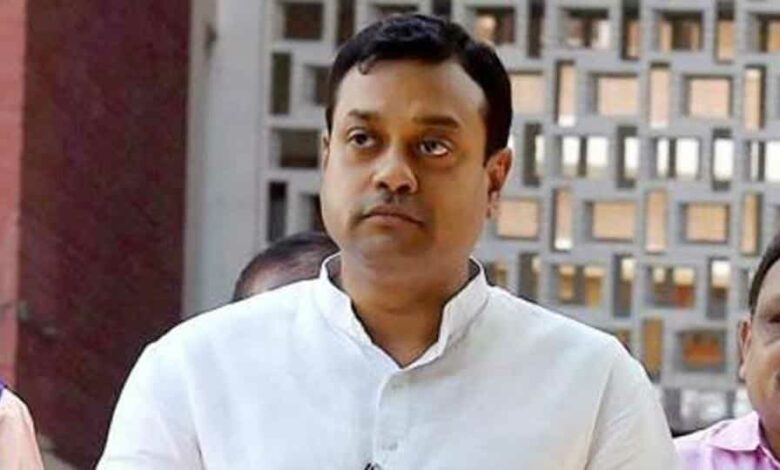 Sambit Patra has been accused of using derogatory language against the former PMs that could incite any class or community of person to commit any offence against any other class or community.