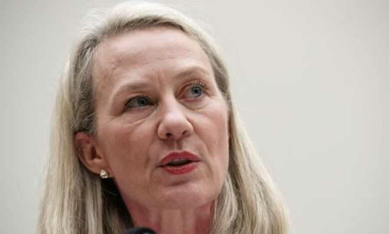 File photo of Alice Wells, acting Assistant Secretary of State for South and Central Asia. She will retire in May.