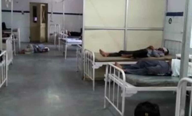 The injured were moved to the nearest district hospital.