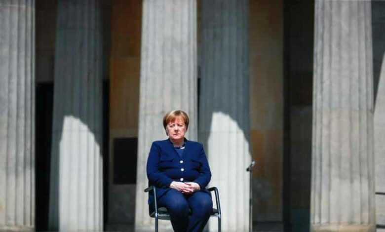 German Chancellor Angela Merkel said as an export nation Germany needs to ensure that her neighbours are faring well.