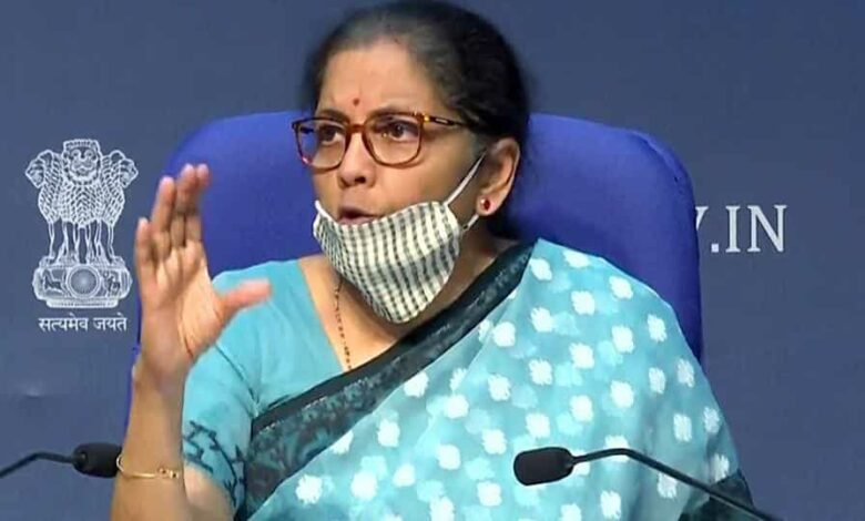 Union Finance Minister Nirmala Sitharaman was addressing a press conference to give the details of the Rs 20 lakh crore economic stimulus package announced by Prime Minister Narendra Modi.