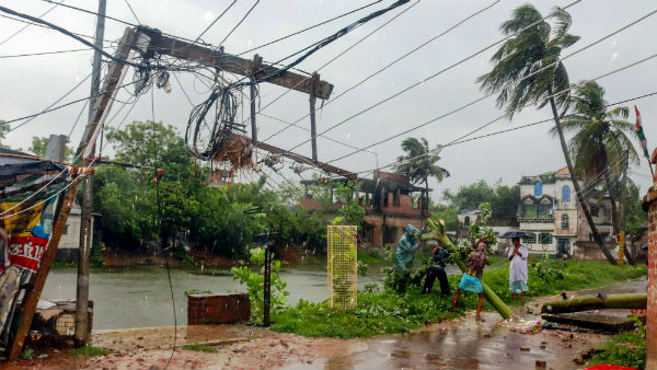 Cyclone Amphan Killed 12 in West Bengal