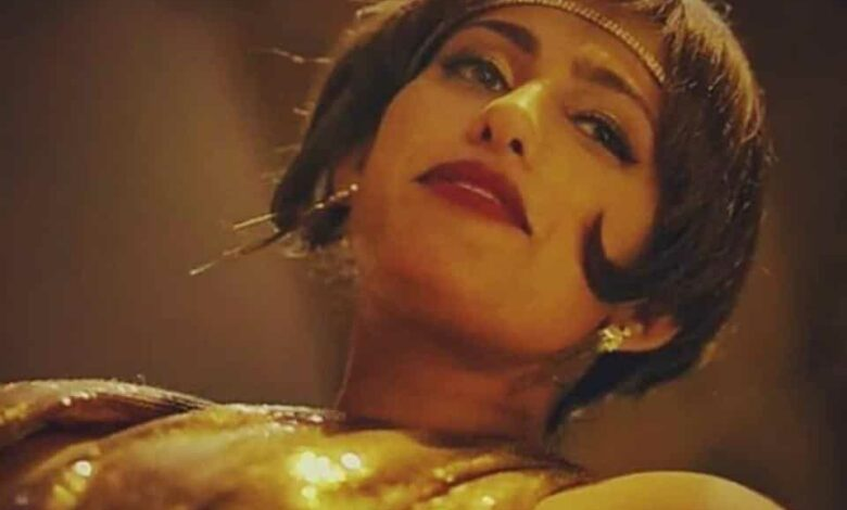 Kubbra Sait in a still from Sacred Games.