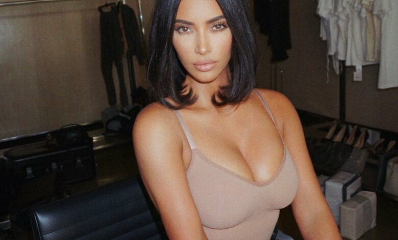 Kim Kardashian turns up the heat in her underwear and cowboy leather chaps? (Pics)