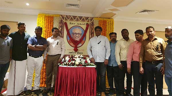 condolence meeting held for anbalagan in uae