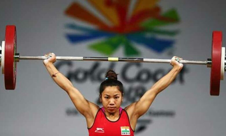 Also confined within the walls of NIS are nine weightlifters, including Tokyo Olympics hopefuls Mirabai Chanu (In photo) and Jeremy Lalrinnunga)